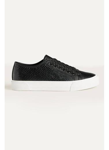 Letoon 2135 Kadın Günlük Spor Ayakkabı Siyah